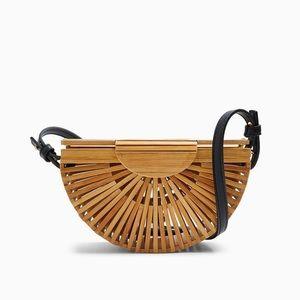 [Topshop] Bamboo Purse / Crossbody Bag NWT
